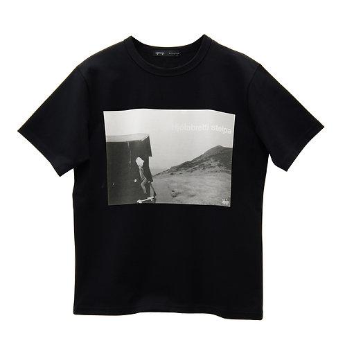 T-Shirt Hjólabretti stelpa