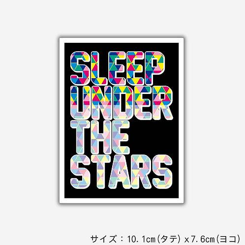 Stickers SLEEP UNDER THE STARS(2枚)