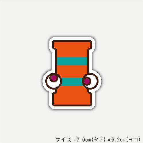 "Stickers ALPHABETER'S""I""(2枚)"