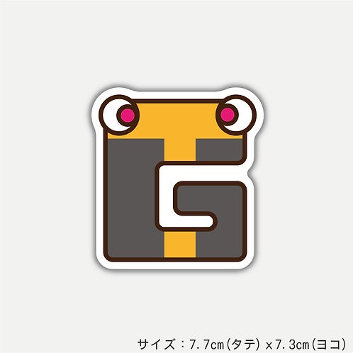 "Stickers ALPHABETER'S""G""(2枚)"