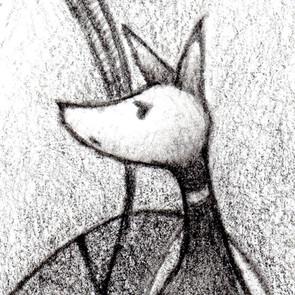 ルルドロンド鉛筆作家Sago