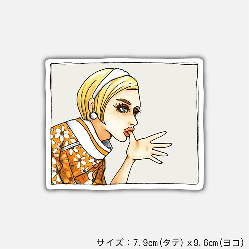 Stickers Scissors Paper Stone[PAOER](2枚)