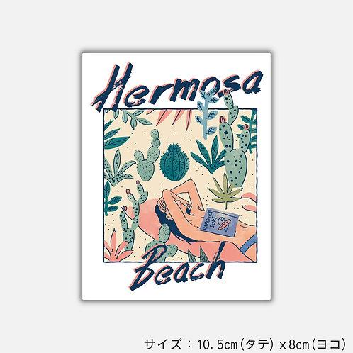 Stickers HERMOSA BEACH(2枚)