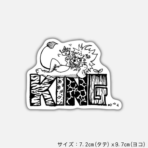 Stickers KING...(2枚)