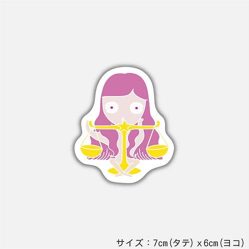 Stickers HOSHIKO sticker てんびん座(2枚)
