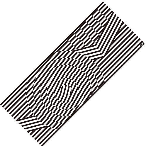 Tenugui 60s.geometric pattern