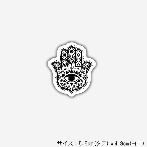 "Stickers ""EYE""HAND(2枚)"