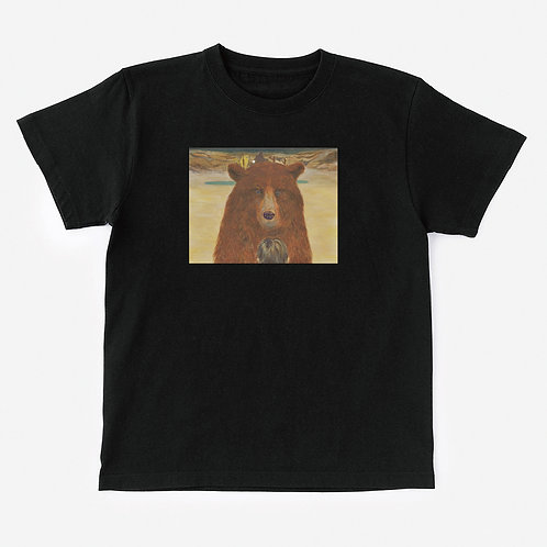 T-Shirt BEAR IN FRONT OF A BOY