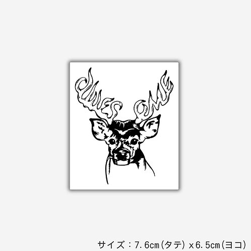 Stickers AWESOME DEER(2枚)