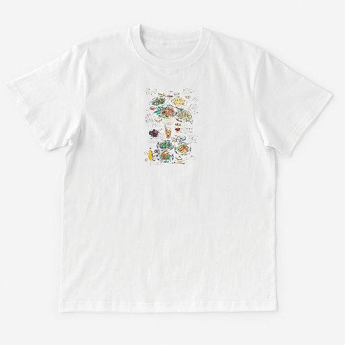 T-Shirt 日記シリーズ:ベトナムのご飯