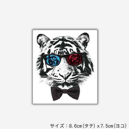 Stickers SLEEP TIGER GLASSES(2枚)