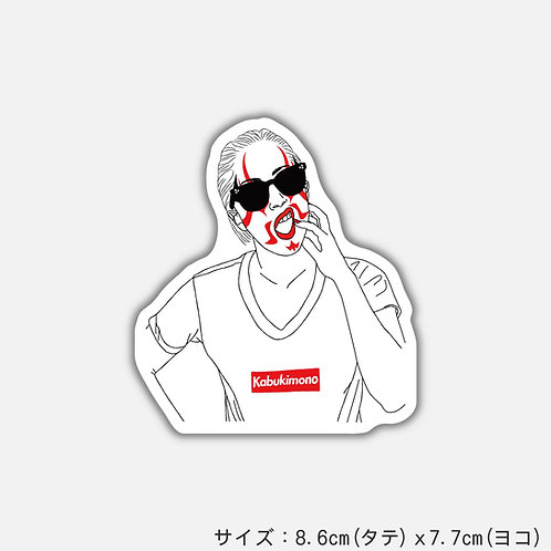 Stickers Kabukimono-A(2枚)