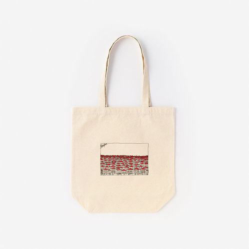 Tote-Bag Red Town