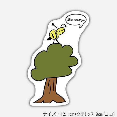 Stickers ハチくん(2枚)