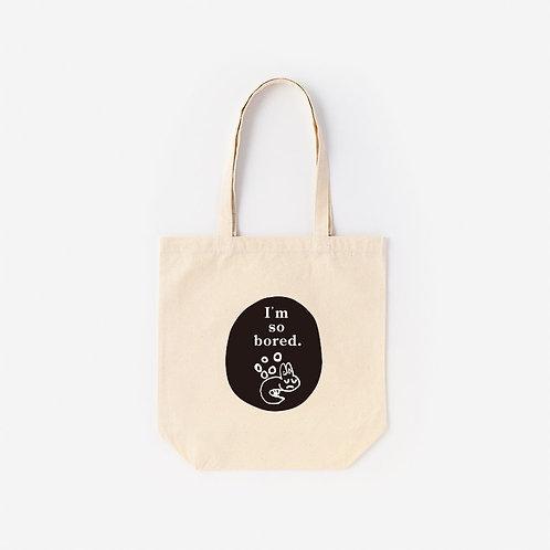 Tote-Bag 考える雪ウサギ