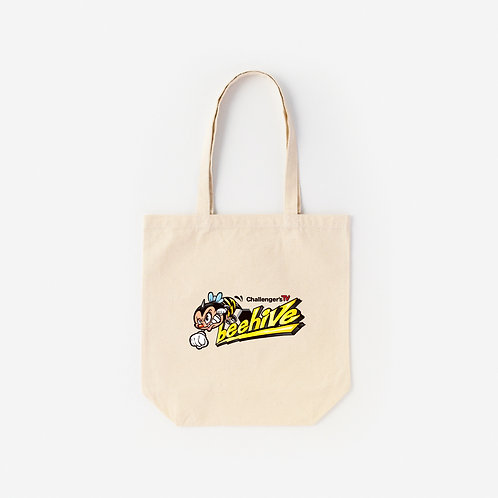 Tote Bag CHALLENGER' S TV  beehive A
