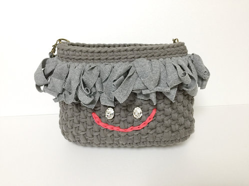 Tshirts yarn bag YUKIO「5歳おかいもの」
