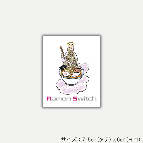 Stickers God of ramen(2枚組)