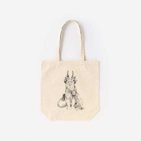 Tote-Bag 架空動物 MIX:Felis Silverstris MIX Jacob Sheep