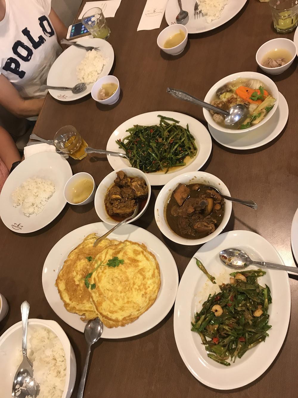 Lunch at Nancy's Kitchen