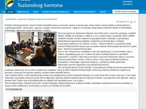 Vlada Tuzlanskog kantona - Ljetna škola - sigurnost u odgojno obrazovnim ustanovama