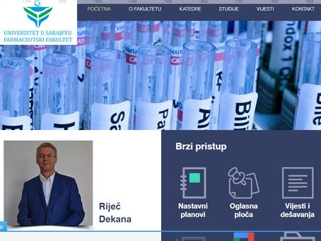 Nova internet stranica Fakulteta