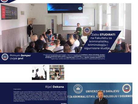 Nova web stranica Fakulteta