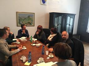 Održan sastanak menadžmenta Fakulteta i nove uprave Pravnog fakulteta Univerziteta u Sarajevu