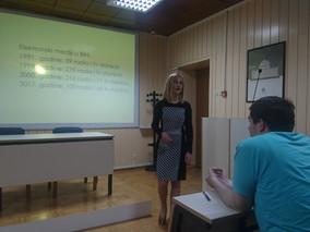 Duška Jurišić održala predavanje na Fakultetu za kriminalistiku, kriminologiju i sigurnosne studije