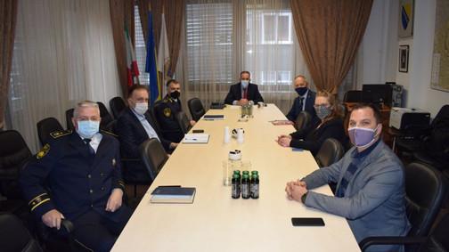 Posjeta Ministarstvu unutrašnjih poslova ZDK i Ministru Dariju Pekiću