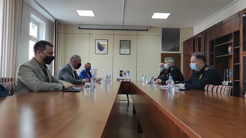 Posjeta policijskog komesara Uprave policije MUP-a Kantona Sarajevo Fakultetu