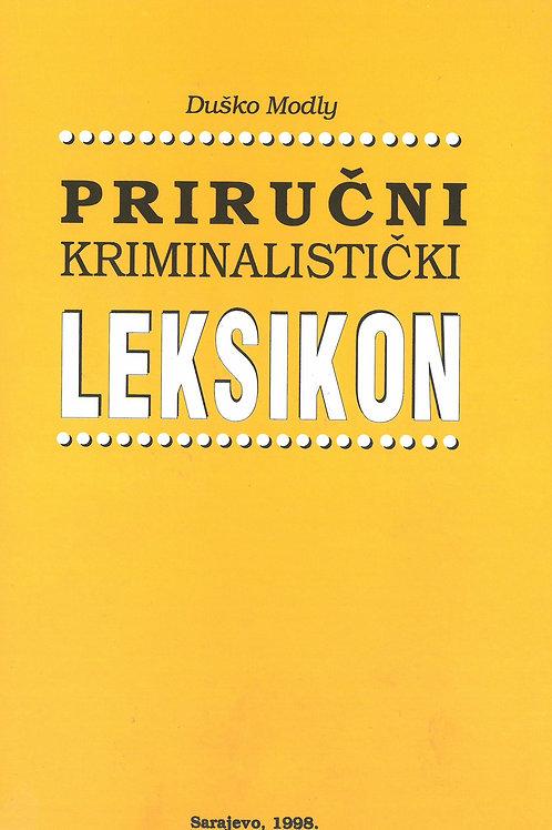 Priručni kriminalistički leksikon
