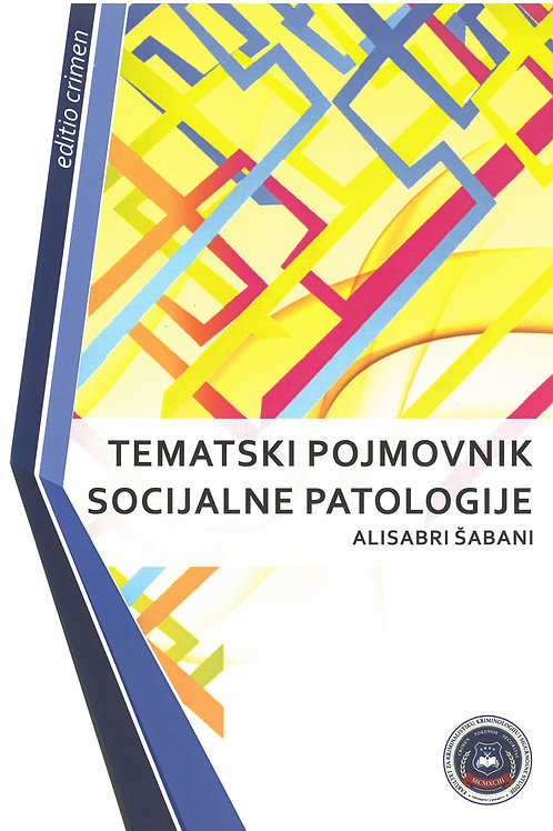 Tematski pojmovnik socijalne patologije