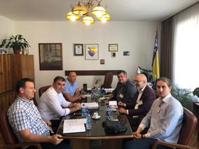 Zamjenik direktora FUP-e, Ensad Korman održao sastanak sa predstavncima Fakulteta za kriminalistiku,
