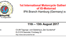 1st International Motorcycle Gathering of IG-Motorrad
