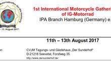 1st International Motorcycle Gathering of IG-Motorrad