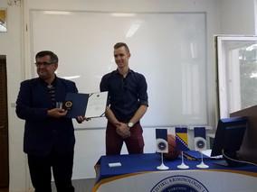 Posjeta Džanana Muse Fakultetu za kriminalistiku, kriminologiju i sigurnosne studije
