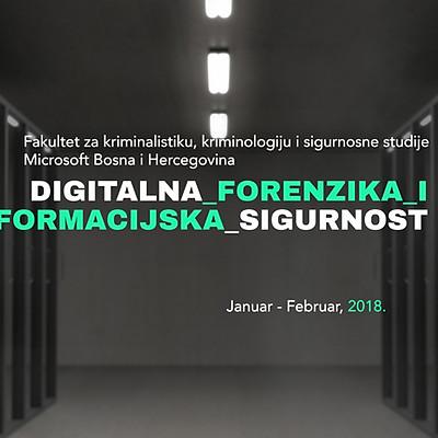 Digitalna forenzika i informacijska sigurnost