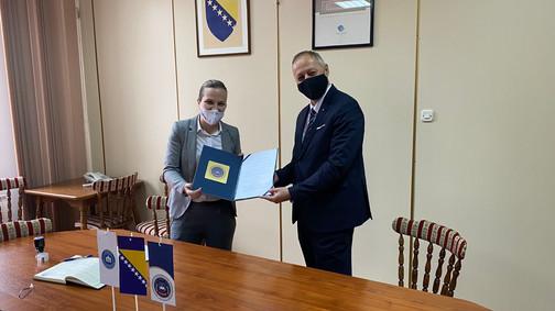 Potpisan sporazum o naučnoj, obrazovnoj i stručnoj saradnji između Fakulteta za kriminalistiku, krim