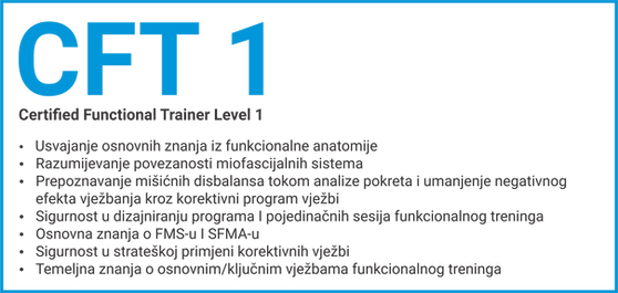 Opis CFT edukacije