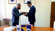 Posjeta Ministra za obrazovanje, nauku i mlade Kantona Sarajevo Fakultetu za kriminalistiku, krimino