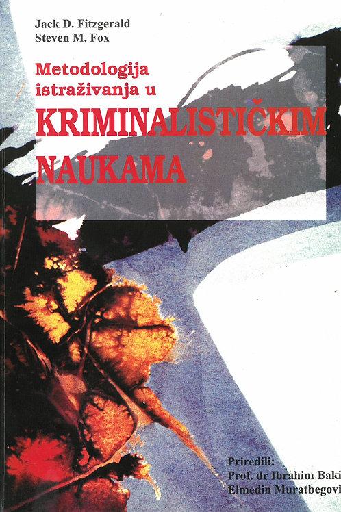 Metodologija istraživanja u kriminalističkim naukama