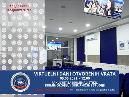 Virtuelni Dani otvorenih vrata