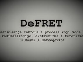 Početak realizacije projekta DeFRET