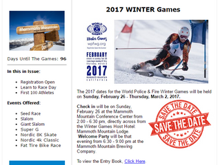 World Police & Fire Winter Games