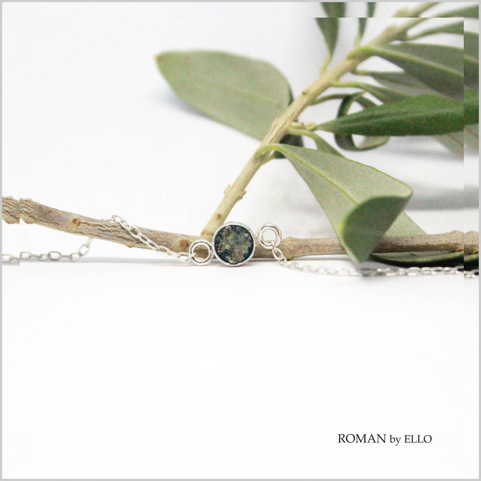 AURORA SMALL BRACELET WITH ROMAN GLASS