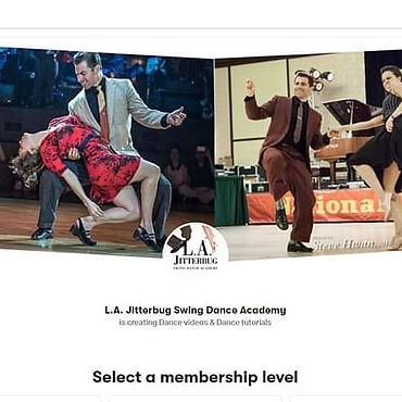 LA Jitterbg online classes