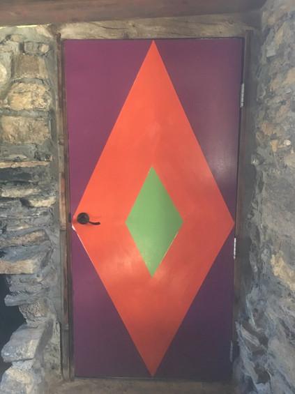 Doorways (stone cabin)