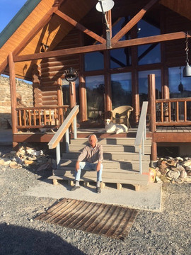 Anton on the Porch