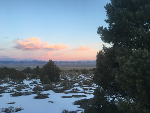 Winter Sky in the High Plains